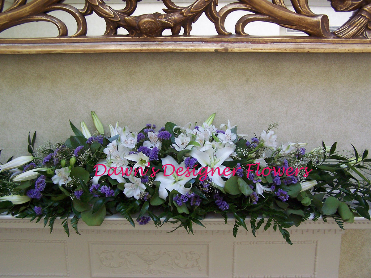 Wedding Flowers For Venue : Wedding venue flowers dawns designer london