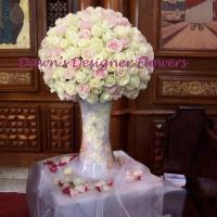 Wedding feature floral arrangement
