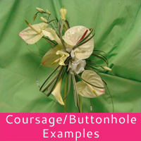 Buttonholes and Coursages
