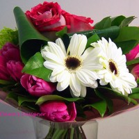 Spring Time Flowers Bouquet