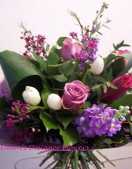 Bliss Hand Tied flower bouquet