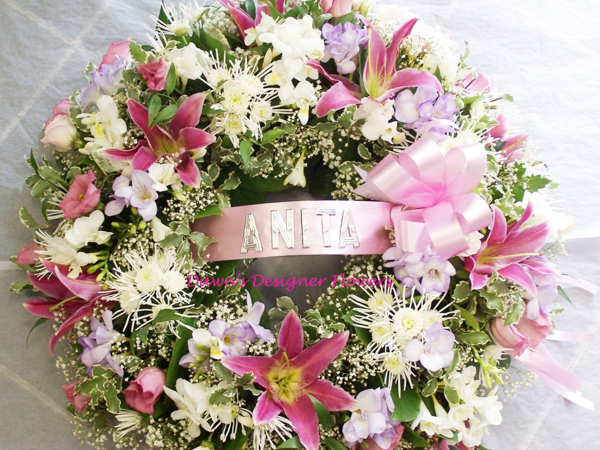 Funeral Wreath Buy Funeral Flowers line