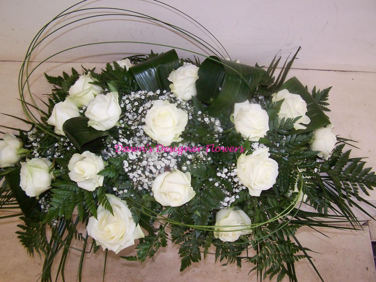 Rose Spray Funeral Flowers Buy Flowers Online