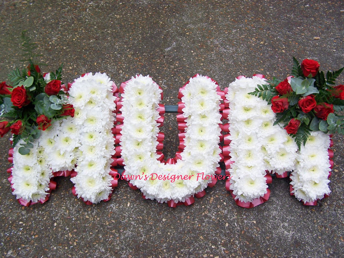 Funeral tribute mum london florist 02087489766 prev izmirmasajfo