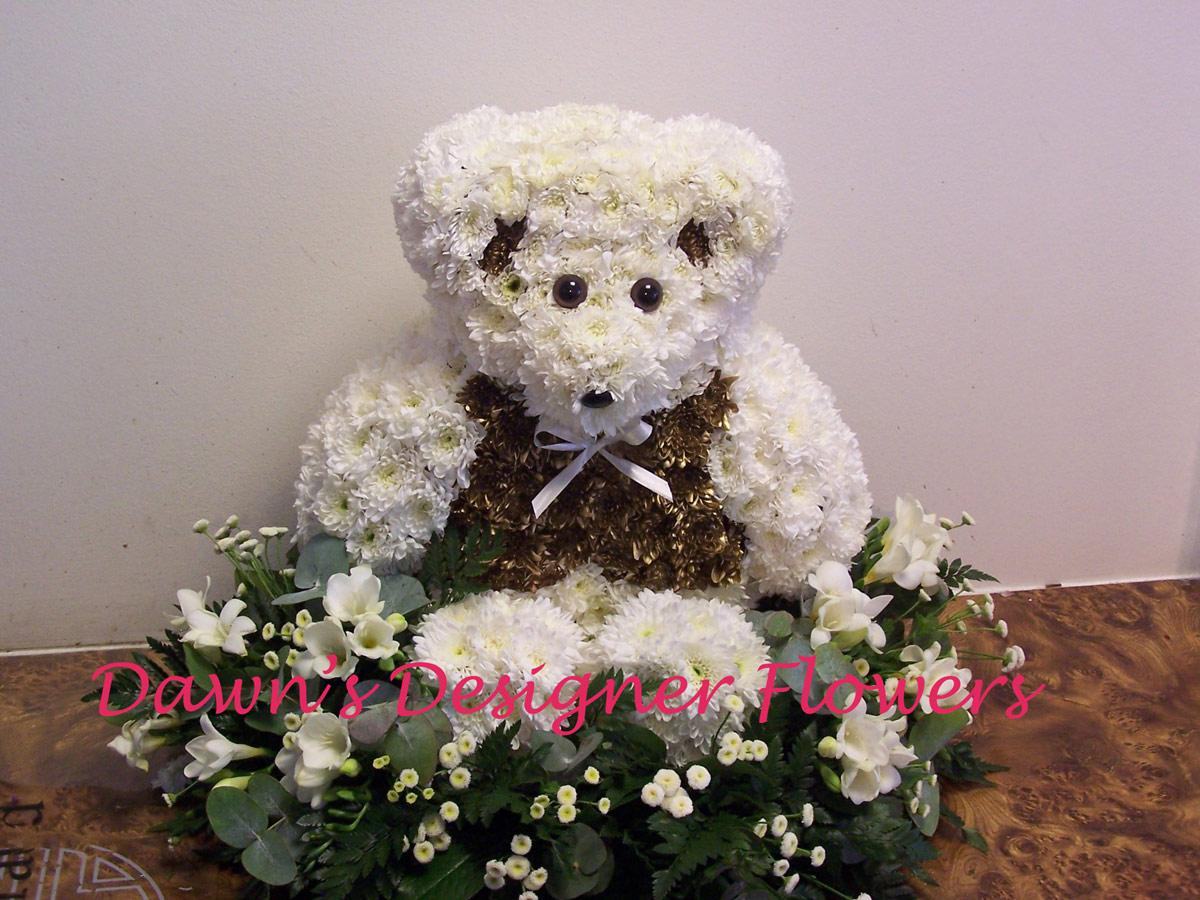 Teddy funeral tribute buy flowers online prev izmirmasajfo