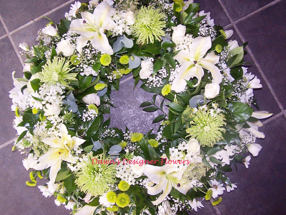 Funeral Wreath London Funeral Flower Delivery Free Delivery To