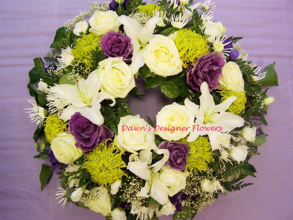 Funeral wreath london funeral flower delivery free delivery to prev izmirmasajfo