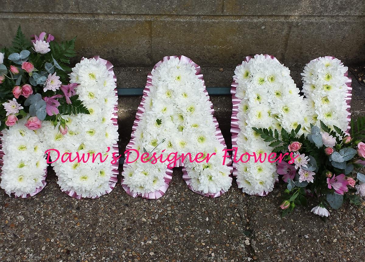 Nan funeral letter tributes london florist izmirmasajfo Images