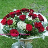 Red Roses, Grand Prix Roses,24 Red Rose bouquet