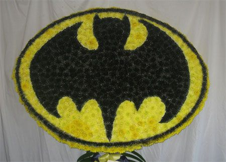 Funeral Tribute Batman London Florist Free Delivery To W6